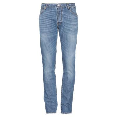 LIU •JO MAN ジーンズ ブルー 30 コットン 98% / ポリウレタン 2% ジーンズ