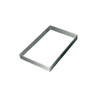 EBM 18-8 角型 ケーキリング 570×370×H60