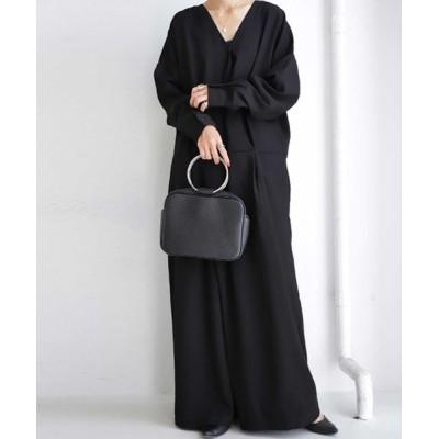 antiqua / オールインワン 計算不要。着るだけで雰囲気たっぷり、レディに仕上がる WOMEN オールインワン・サロペット > つなぎ/オールインワン