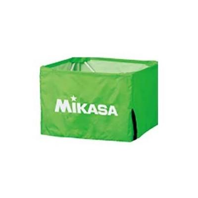 ミカサ 箱型ボールかご 小用 幕体【フレームなし】(ライトグリーン) MIKASA BC-SP-SS用 BCM-SP-SS-LG 【返品種別A】