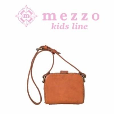 メゾ 革 バッグ お子様のための小さ目サイズ。キュートな見た目とレトロな風合いの上質なキッズショルダーバッグ