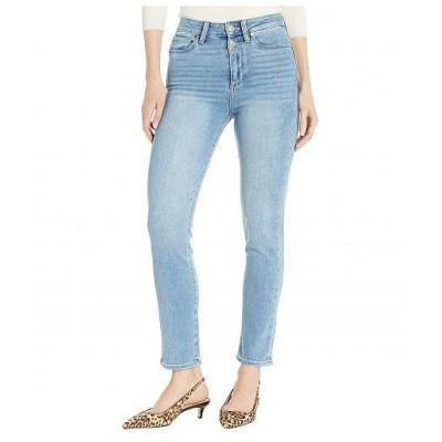 Paige ペイジ レディース 女性用 ファッション ジーンズ デニム Hoxton Slim Jeans w/ Double Button in Maclaren - Maclaren