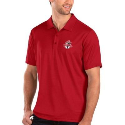 ユニセックス スポーツリーグ サッカー Toronto FC Antigua Balance Polo - Red Tシャツ