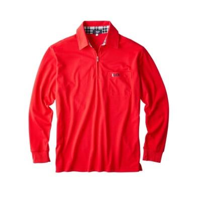 MR.VAN(ミスターバン) 長袖ポロシャツ(袖・丈短めサイズ) ポロシャツ, Tops