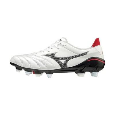 ミズノ(MIZUNO) メンズ レディース サッカー スパイク モレリアネオIII JAPAN MIX ホワイト×ブラック P1GC2080 09 シューズ 天然芝 土 人工芝 靴
