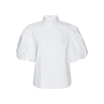 フレーム レディース シャツ トップス Margot Short Puff-Sleeve Cotton Top