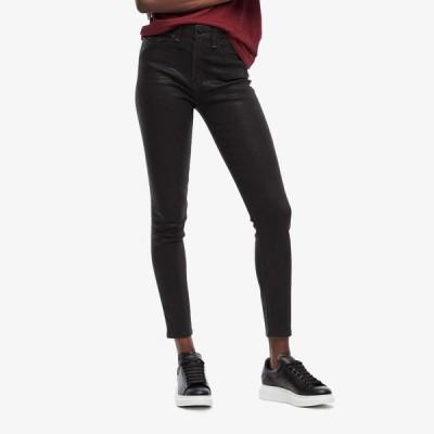 ラグ&ボーン rag & bone レディース ジーンズ・デニム ボトムス・パンツ Nina High-Rise Ankle Skinny Coated Black