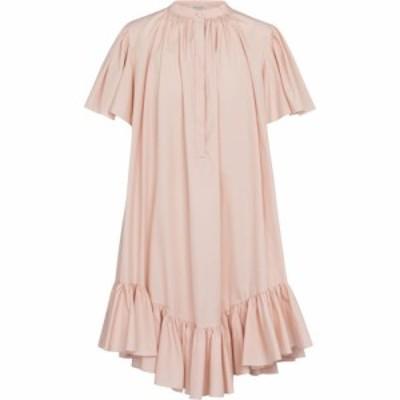 アレキサンダー マックイーン Alexander McQueen レディース ワンピース ミニ丈 ワンピース・ドレス ruffled cotton minidress Tea Rose