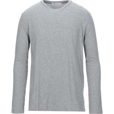 アレキサンダー ワン ALEXANDER WANG メンズ Tシャツ トップス t-shirt Light grey