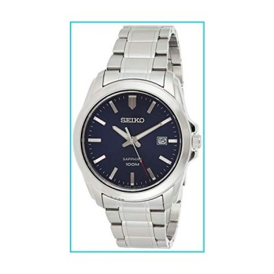 Seiko Men's SGEH47 Silver Stainless-Steel Plated Japanese Quartz Dress Watch【並行輸入品】