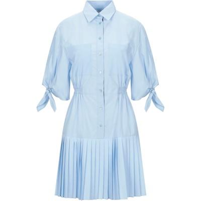 ピンコ PINKO ミニワンピース&ドレス スカイブルー 44 コットン 97% / ポリウレタン 3% / ポリエステル / レーヨン ミニワンピ