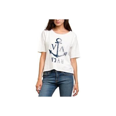 ルカ Tシャツ シャツ トップス 半袖 長袖 RVCA - RVCA レディース Tシャツ - VA Anchor