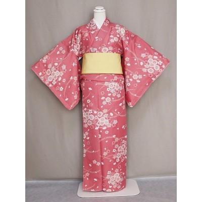 高級ブランド R-KIKUCHIのおしゃれな袷仕立て着物・小紋 変わり織 送料無料 W0453-16