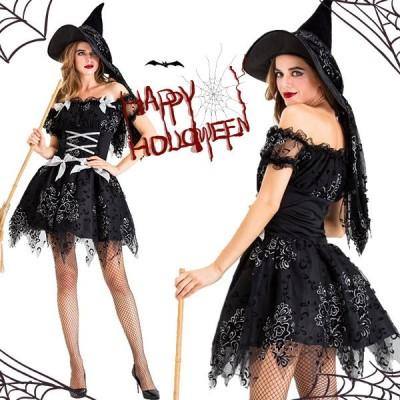 コスプレ  ハロウィン  ハロウィン衣装 大人用 女性用  ワンピース 巫女 ウィッチガール  衣装  仮装  レディース イベント 可愛い