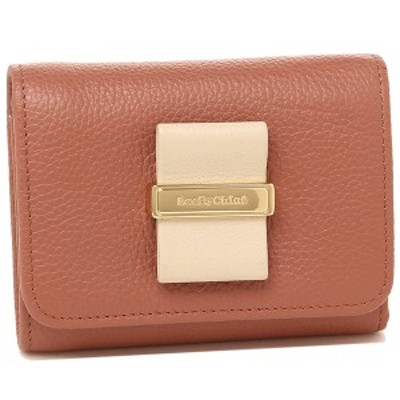 シーバイクロエ 折財布 レディース SEE BY CHLOE CHS18AP717 472 26W ピンク
