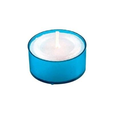 【まとめ買い10個セット品】 カラークリアカップティーライト(24個入)S8351 B ブルー【 卓上小物 】