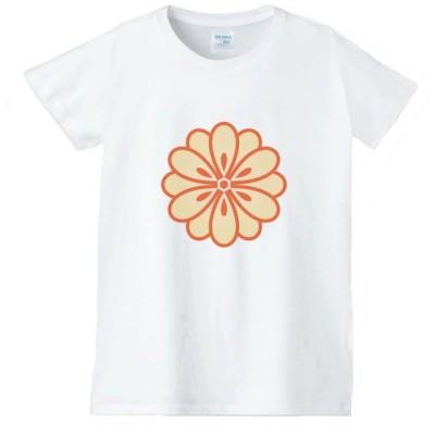 花 フラワー Tシャツ 白 レディース 女性用 jfw30