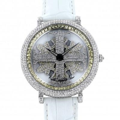 アンコキーヌ ネオ Anne Coquine Neo アルバ イエロー M1-3A ホワイト文字盤 新品 腕時計 メンズ
