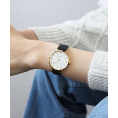 腕時計 シンプル合皮ウォッチ