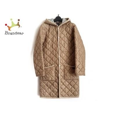ラベンハム コート サイズ36 S レディース ベージュ 冬物/キルティング/LIBERTY ART FABRICS     スペシャル特価 20210123