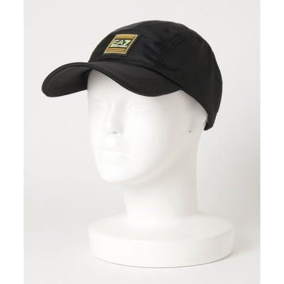 帽子 キャップ 【エンポリオ アルマーニ EA7】TRAIN COLOUR FLASH スクエアパッチキャップ