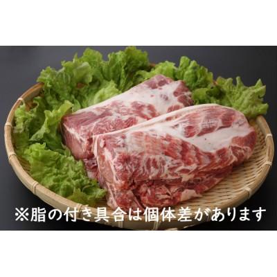 山形県庄内SPF豚最上川ポーク肩ロースブロック4kg