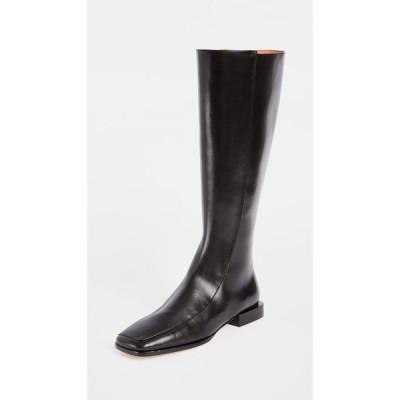 トリー バーチ Tory Burch レディース ブーツ スクエアトゥ シューズ・靴 Square Toe 20mm Boots Perfect Black