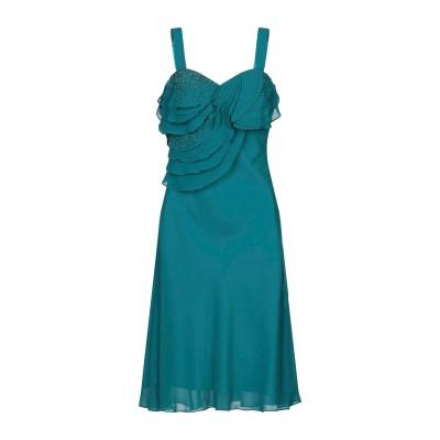 CARLO PIGNATELLI CERIMONIA 7分丈ワンピース・ドレス ディープジェード 44 ポリエステル 100% 7分丈ワンピース・ド