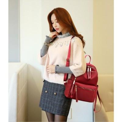 通勤 通学 旅行 アウトドア 女の子 レディース バッグ リュックサック キャンバスリュック おしゃれ リュック 大容量 韓国風 バックパック 鞄 マザーズバッグ