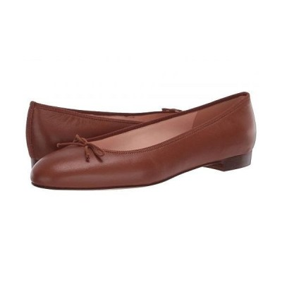 J.Crew レディース 女性用 シューズ 靴 フラット Leather Uptown Classic Ballet - Warm Sepia