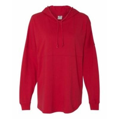 America  ファッション トップス J America Mens Hooded Game Day Jersey T-Shirt JA8228 XS-XL