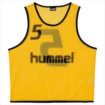《送料無料》hummel (ヒュンメル) ジュニア トレーニングビブス (30) HJK6006Z 1908 サッカー フットサル プラクティスシャツ