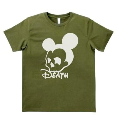 おもしろ パロディ バカ Tシャツ Death ネズミ カーキー MLサイズ