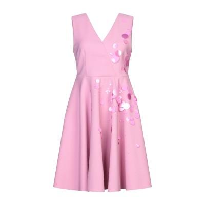 エムエスジーエム MSGM ミニワンピース&ドレス ピンク 40 ポリエステル 96% / ポリウレタン 4% ミニワンピース&ドレス