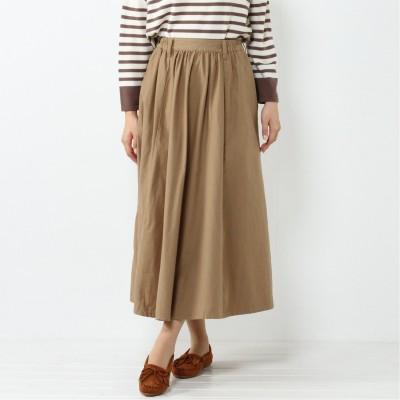 ツイルマキシスカート