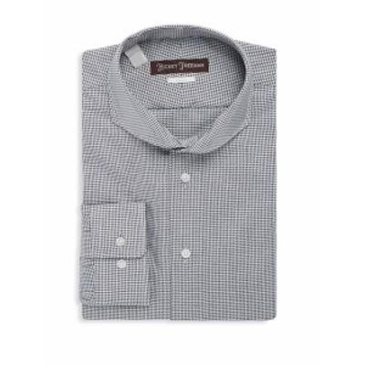 ヒッキーフリーマン メンズ ドレスシャツ ワイシャツ Cotton Classic-Fit Dress Shirt
