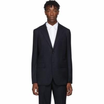 コム デ ギャルソン Comme des Garcons Homme Deux メンズ スーツ・ジャケット アウター navy saxony blazer Navy