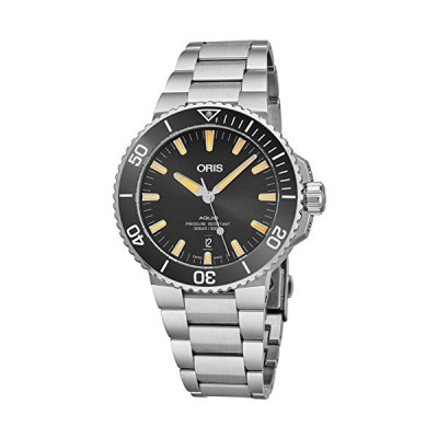 Oris Aquis Black Dial Stainless Steel Men's Watch 73377304159MB 並行輸入品