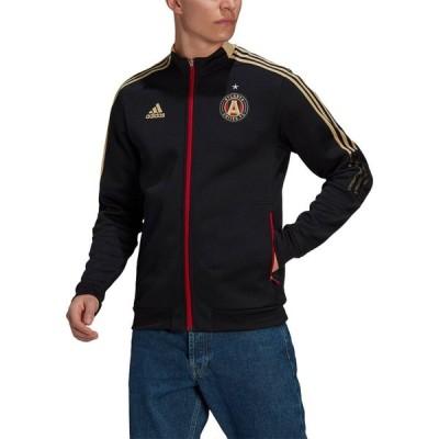 アディダス adidas メンズ ジャケット アウター Atlanta United Anthem Black Jacket
