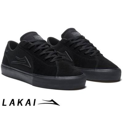 ラカイ Lakai FLACO II BLACK/BLACK SUEDE フラコ 2 ブラック/バブラック スエード