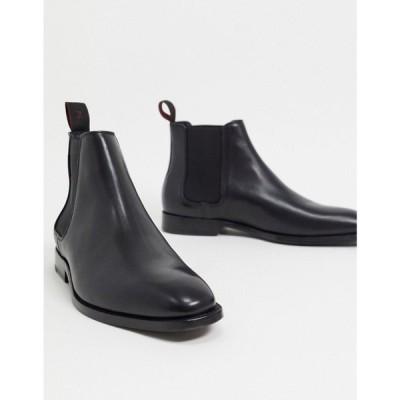 ポールスミス PS Paul Smith メンズ ブーツ シューズ・靴 Gerald leather boots in black ブラック