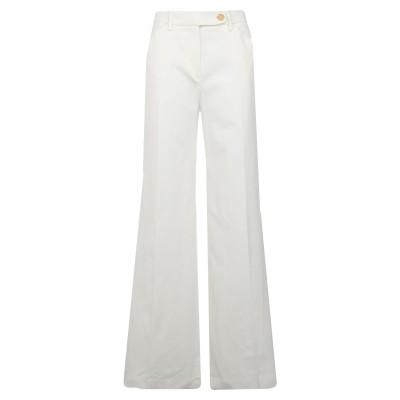 トゥルー ロイヤル TRUE ROYAL パンツ ホワイト 46 コットン 97% / ポリウレタン 3% パンツ