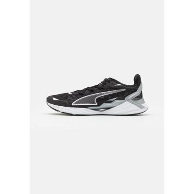 プーマ シューズ メンズ ランニング ULTRARIDE UNISEX - Neutral running shoes - black/silver