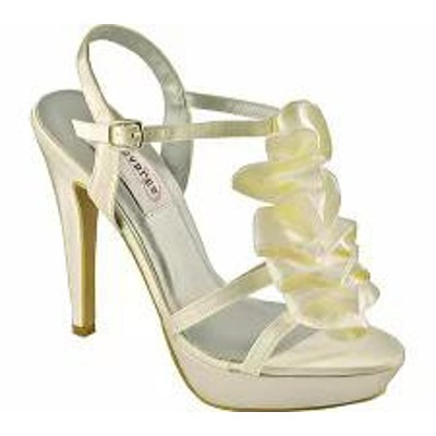 Dyeables レディースシューズ Dyeables Ivy Ivory Satin