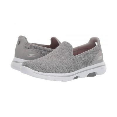 SKECHERS Performance スケッチャーズ レディース 女性用 シューズ 靴 スニーカー 運動靴 Go Walk 5 - Honor - Gray