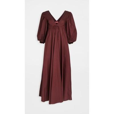 スタウド STAUD レディース ワンピース ワンピース・ドレス Amaretti Dress Tawny Port