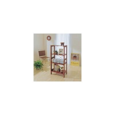 アイリスオーヤマ ウッディラック/WOR-5312 ブラウン ブラウン/棚板:550X350mm