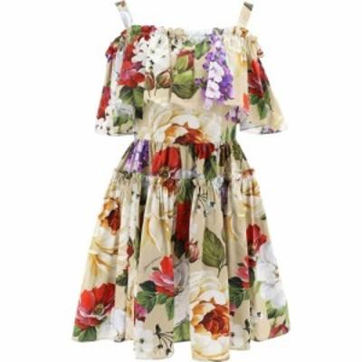 ドルチェandガッバーナ Dolce and Gabbana レディース ワンピース ワンピース・ドレス Dress With Floral Print Beige