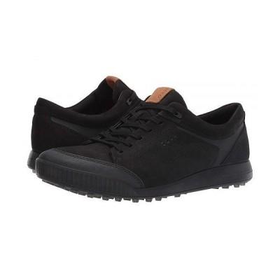 ECCO Golf エコー ゴルフ メンズ 男性用 シューズ 靴 スニーカー 運動靴 Street Retro LX - Black