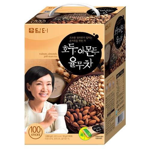[DAMTUH] 核桃杏仁薏仁茶 (18g X 100入)(韓國直送)